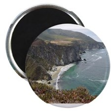 "Rocky CA Coast 2.25"" Magnet (10 pack)"
