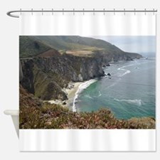 Rocky CA Coast Shower Curtain