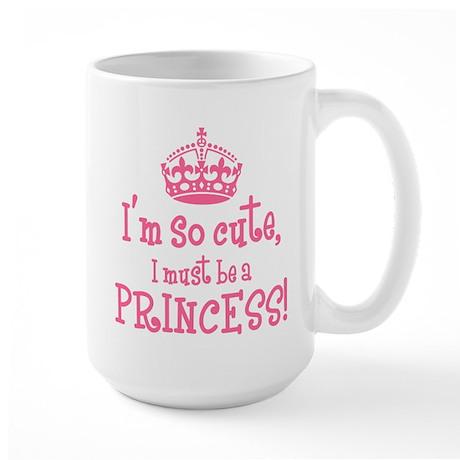 So Cute Princess Large Mug