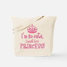 So Cute Princess Tote Bag