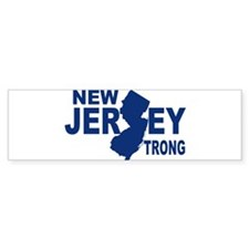 New jersey Strong Bumper Bumper Sticker