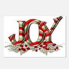 Christmas Joy Postcards (Package of 8)