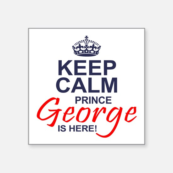 Prince George is Here Sticker