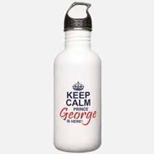 Prince George is Here Water Bottle