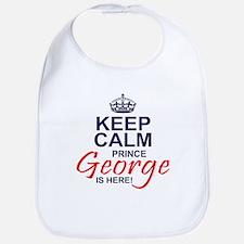 Prince George is Here Bib