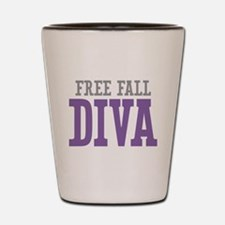 Free Fall DIVA Shot Glass