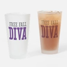 Free Fall DIVA Drinking Glass