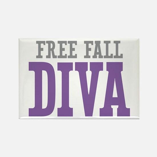 Free Fall DIVA Rectangle Magnet