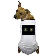 scary eyes Dog T-Shirt
