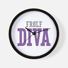 Frolf DIVA Wall Clock