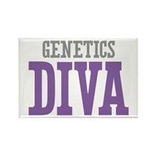 Genetics DIVA Rectangle Magnet