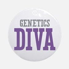 Genetics DIVA Ornament (Round)