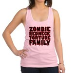 Zombie Redneck Torture Family Racerback Tank Top