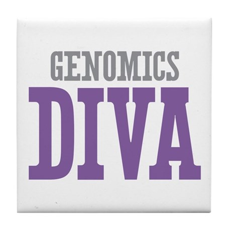 Genomics DIVA Tile Coaster