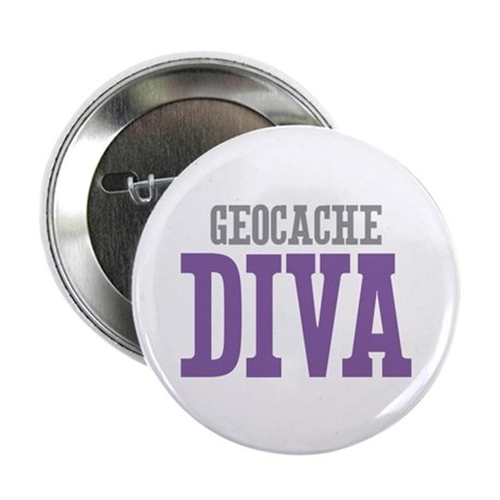"Geocache DIVA 2.25"" Button (100 pack)"