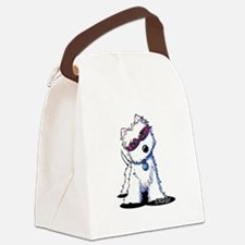Doggles Westie Canvas Lunch Bag
