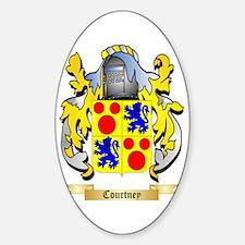Courtney Sticker (Oval)