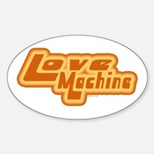 Love Machine Oval Stickers