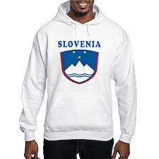 Slovenia Coat Of Arms Designs Hoodie
