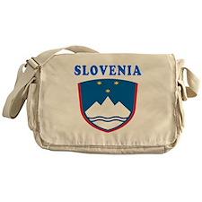 Slovenia Coat Of Arms Designs Messenger Bag