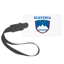 Slovenia Coat Of Arms Designs Luggage Tag