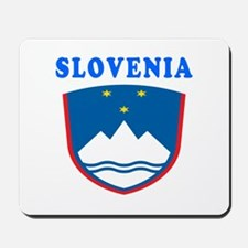 Slovenia Coat Of Arms Designs Mousepad
