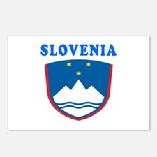 Slovenia Coat Of Arms Designs Postcards (Package o