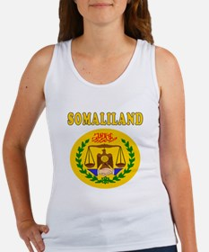 Somaliland Coat Of Arms Designs Women's Tank Top