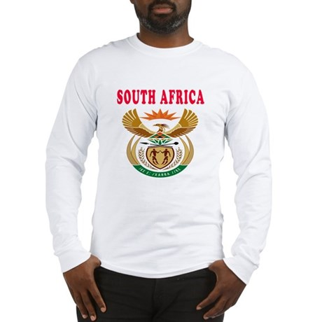 South Africa Coat Of Arms Designs Long Sleeve T-Sh