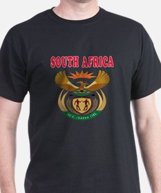 South Africa Coat Of Arms Designs T-Shirt
