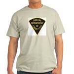 Indiana Correction Ash Grey T-Shirt