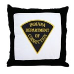 Indiana Correction Throw Pillow