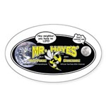 Mr. Hayes' Youtube Science Sticker (Oval)