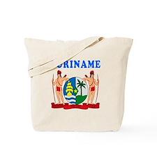 Suriname Coat Of Arms Designs Tote Bag