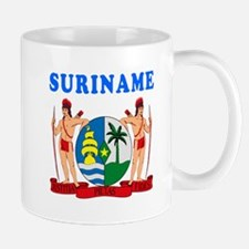 Suriname Coat Of Arms Designs Mug