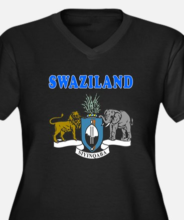 Swaziland Coat Of Arms Designs Women's Plus Size V