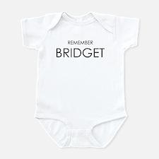 Remember Bridget Infant Bodysuit