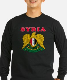 Syria Coat Of Arms Designs T