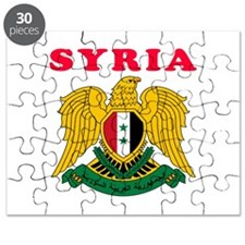 Syria Coat Of Arms Designs Puzzle