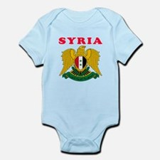 Syria Coat Of Arms Designs Infant Bodysuit