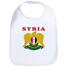 Syria Coat Of Arms Designs Bib