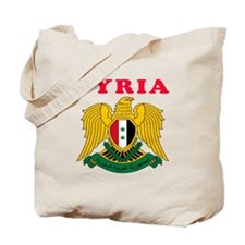 Syria Coat Of Arms Designs Tote Bag