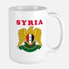 Syria Coat Of Arms Designs Mug