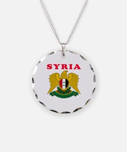 Syria Coat Of Arms Designs Necklace