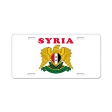 Syria Coat Of Arms Designs Aluminum License Plate