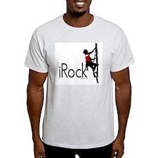 iRock Ash Grey T-Shirt