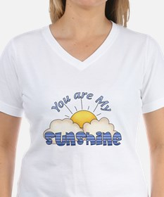 Blue Text You Are My Sunshine T-Shirt
