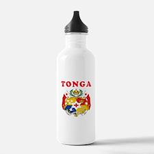 Tonga Coat Of Arms Designs Water Bottle