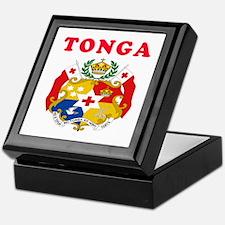 Tonga Coat Of Arms Designs Keepsake Box