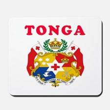 Tonga Coat Of Arms Designs Mousepad
